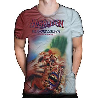 Born2rock - he know you know - marillion t-shirt