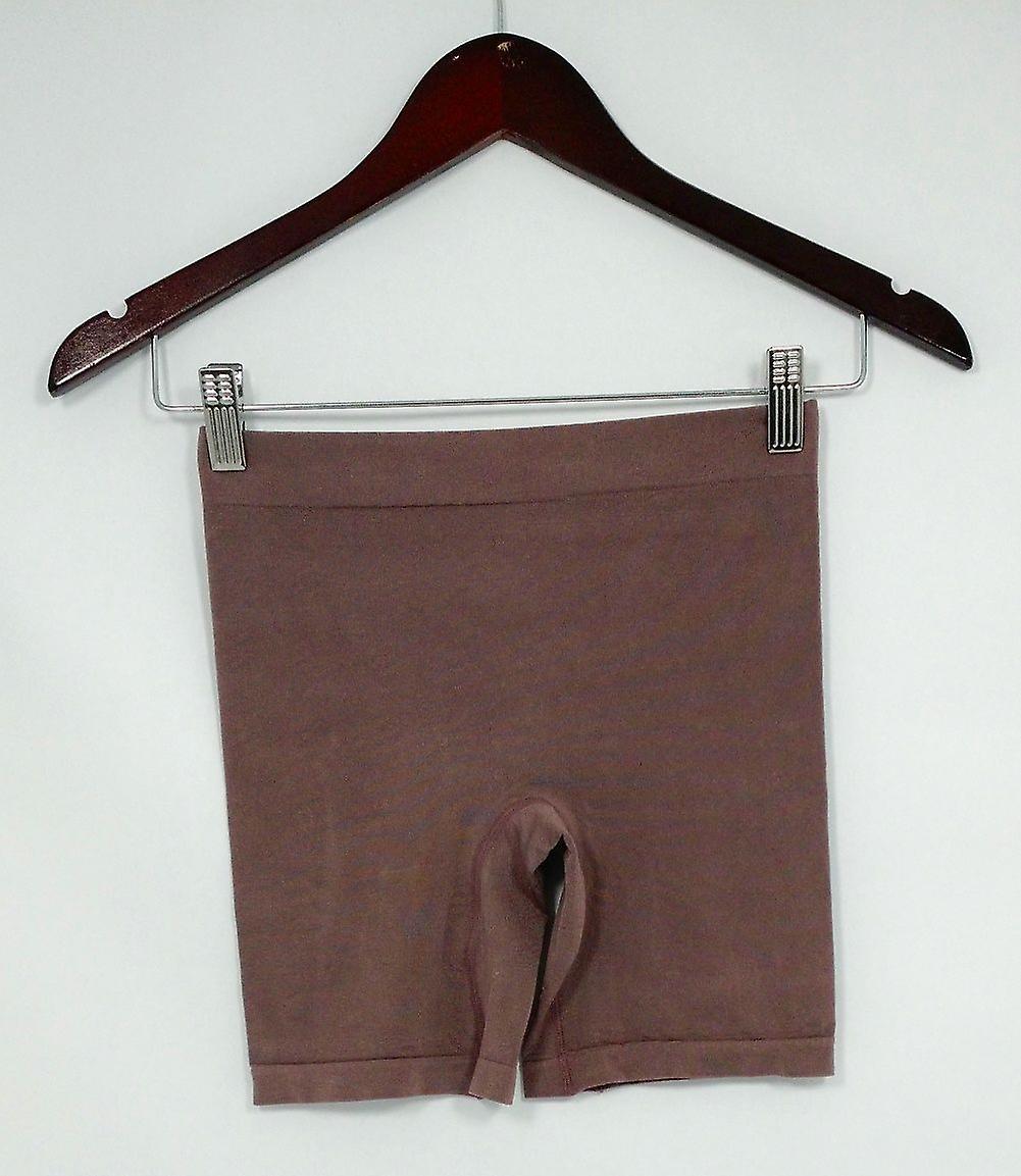 Breezies Panties Soft Knit Seamless Boyshort Style Purple