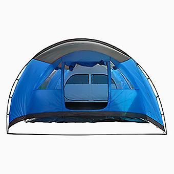 Charles Bentley 6 Mann wasserdichtes Zelt Camping Outdoor Festival 2 Zimmer - Grau