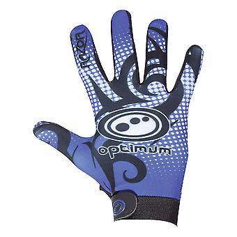 Optimal Velocity Razor full finger Thermal Rugby Glove svart/blå
