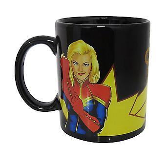 Kaptein Marvel Carol Danvers krus