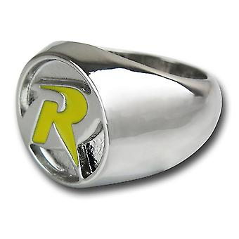 Robin symbool nikkel ring