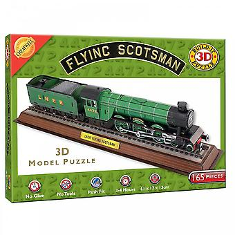 Cheatwell Games Build It 3D Flying Scotsman 165 Piece Puzzle
