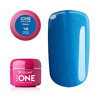 Base one-Pearl-Fresh Azure 5g UV Gel