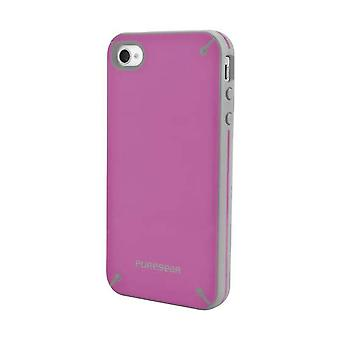 PureGear Slim Shell Carrying Case for Apple iPhone 4 / 4S - Rasberry Melon