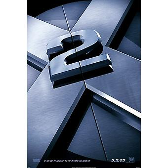 X-Men 2 X2 (Double Sided Advance) (2003) Original Cinema Poster