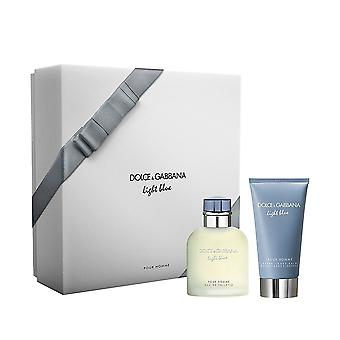 Giftset Dolce & Gabbana Light Blue Pour Homme Edt 75ml + ASB 75ml