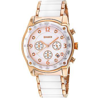 Roberto Bianci Femmes apos;s Simona White Dial Watch - RB58741