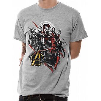 Avengers Unisex vuxna bra mix design T-shirt