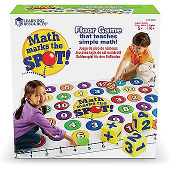 Learning Resources Maths Marks The Spot Maths Activity Set