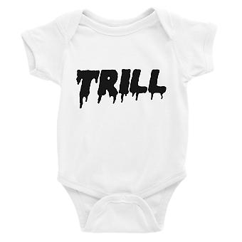 365 Printing Trill Baby Bodysuit Gift White For Baby Boy Birthday Baby Jumpsuit