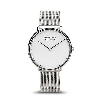 Uhr Bering 15738-004 - Helles Stahlzifferblatt grau milanese StahlArmband