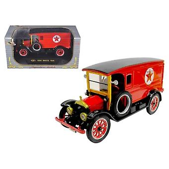1920 White Delivery Van Texaco Red 1/32 Diecast Car Model by Signature Models