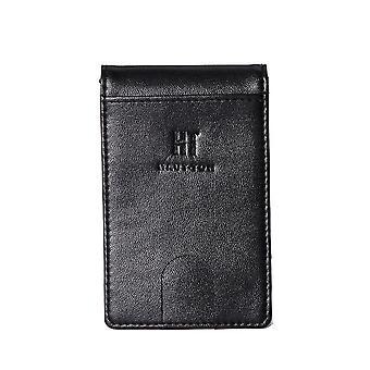 ハウトン Bi Fold クレジットカードマネークリップウォレット