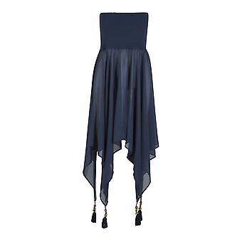 LingaDore 5102DR-235 Women's Abella Dark Blue Tube Beach Dress