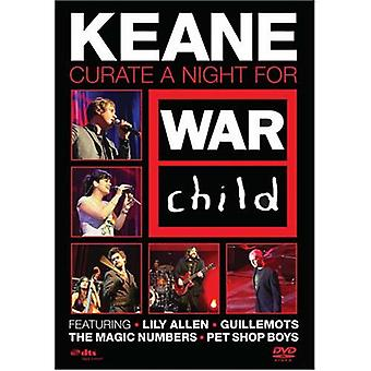 Keane: Curate a Night for War Child (2008) Live DVD