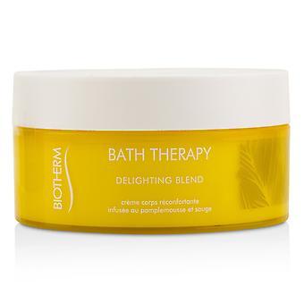 Terapia de baño deleitando mezcla de crema hidratante corporal 221770 200ml/6.76oz