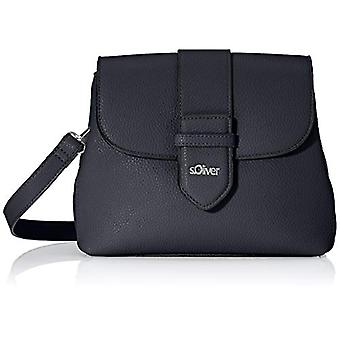 s.Oliver (Bags) 2040358 Woman shoulder bagBlue (Blue) 7x18x22 Centimeters (B x H x T)