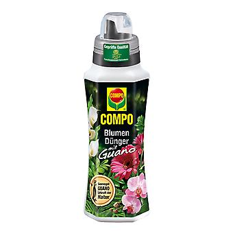 COMPO Flower fertilizer with guano, 500 ml