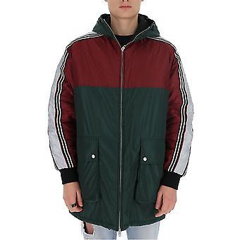 Gucci 590746z40396705 Men's Multicolor Nylon Outerwear Jacket