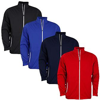Sunderland Mens Golf Whisperdry Luxelight Breathable Stretch Waterproof Jacket