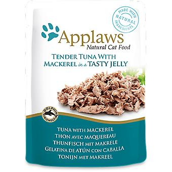 Applaws Tuna Wholemeat with Mackerel in Jelly (Cats , Cat Food , Wet Food)