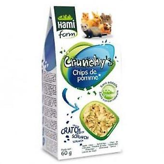 Hami Form Crunchy's Apple Chips (Small pets , Treats)