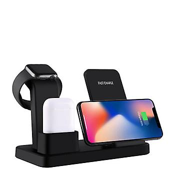 3 in 1 wireless charging dock station