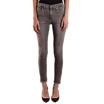 Brian Dales Ezbc126031 Women's Grey Cotton Jeans