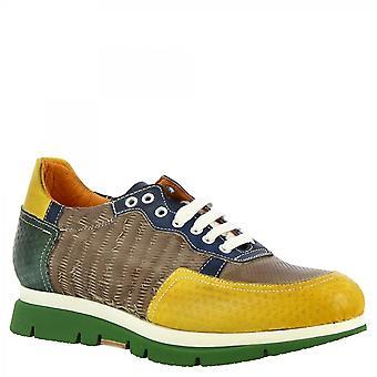 Leonardo Shoes Women's handmade fashion sneakers sapatos multicolor couro de bezerro