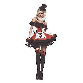 Pretty Queen of Hearts Costume for women