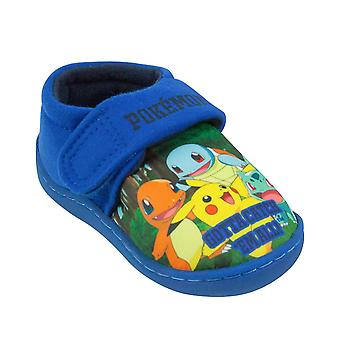 Pokemon Gotta Catch Em All Blue Boy's Slippers