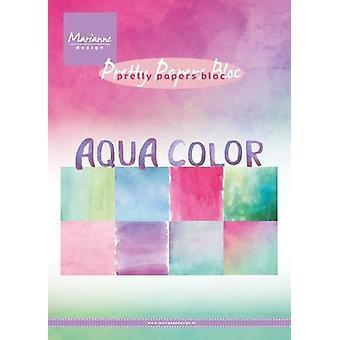 מאריאן עיצוב גוש אקווה צבע PK9147 15x21 ס מ