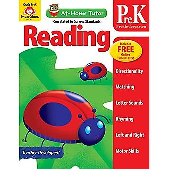 At-Home Tutor Reading, Prekindergarten