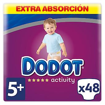 Dodot Activity Extra Diapers Size 5 with 48 Units (Baby & Toddler , Diapering , Diapers)