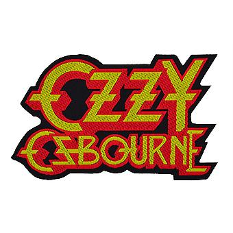 Ozzy Osbourne Logo Cut Out Woven Patch