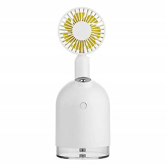 Table fan and humidifier in a