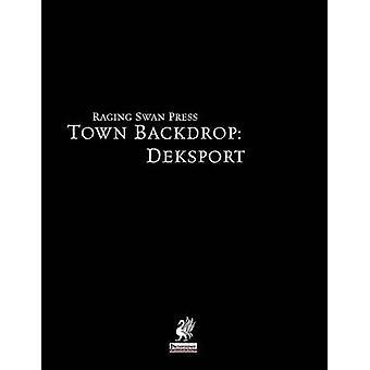 Raging Swans Town Backdrop Deksport by Broadhurst & Creighton