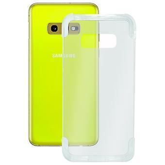 Copertura mobile Samsung Galaxy S10e KSIX Armatura estrema Trasparente