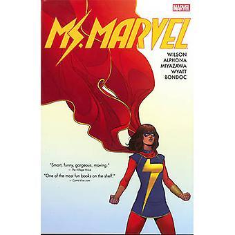 Ms. Marvel Omnibus Vol. 1 - Vol. 1 by Adrian Alphona - Takeshi Miyazaw