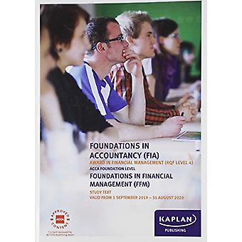 FOUNDATIONS IN FINANCIAL MANAGEMENT - STUDY TEXT by KAPLAN PUBLISHING