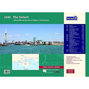 Imray Chart Atlas 2200 - Solent - Selsey Bill and the Isle of Wight to