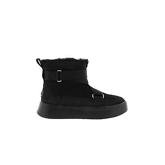 Ugg Ezcr013003 Women's Black Suede Ankle Boots