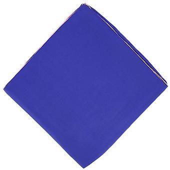 Michelsons of London Shoestring Border Handkerchief - Purple/Pink