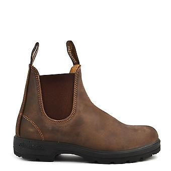 Blundstone Unisex 585 Classic Comfort Rustic Brown Leather Boot