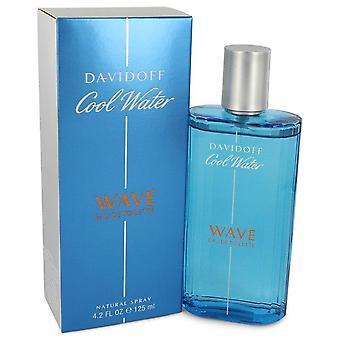Cool vann bølge Eau de Toilette Spray av Davidoff 4.2 oz Eau de Toilette Spray