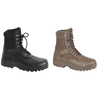 Grafters Mens G-Force Thinsulate Lined Combat Boots
