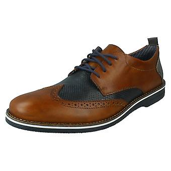 Mens Rieker Formal Lace Up Brogues 12532