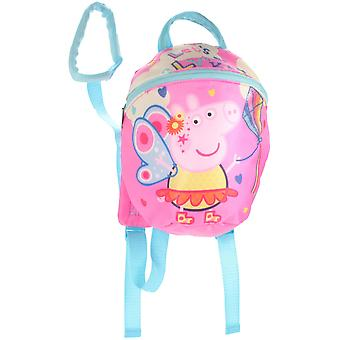 Trade Mark Collections Peppa Pig Reins Backpack
