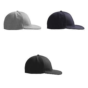 ID Childrens/Kids Modern Baseball Cap With Flat Shade